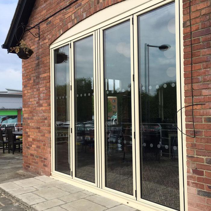 Aluminium Bi Fold Doors Bi Folding Doors Manchester