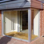 structural glass shop front manufactured by SRL