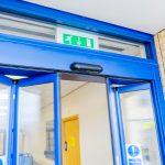 automatic bi-folding doors