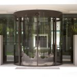 curved automatic sliding doors