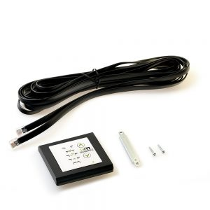 Mode Selector 80 x 80 mm flush mounted