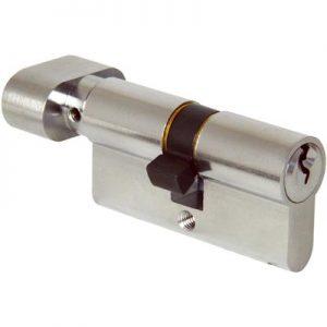 alpro - Key & Thumbturn Euro Cylinder - 60mm